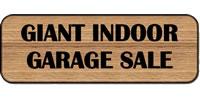 Giant Indoor Garage Sale
