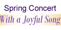 Spring Concert - With a Joyful Song